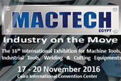 The 16th International Exhibition for Machine Tools, Welding & Cutting Equipment